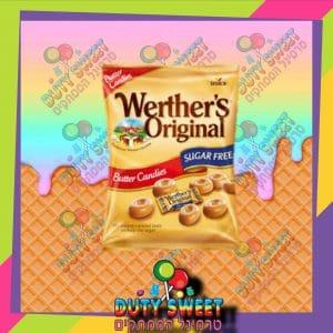 ורטר שקית חמאה 80g ללא סוכר