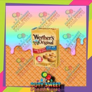 וורטרס אורגניל בטעם חמאה ללא סוכר 42g