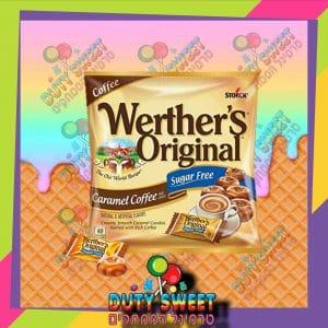 ורטר שקית קפוצינו 80g ללא סוכר