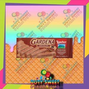 לואקר וופל גרדנה במילוי קרם שוקולד 200g