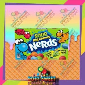 ניירדס קופסא סוכריות גומי חמוצות בטעמי פירות 120g