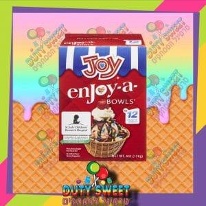 ג'וי קערת מיני וואפל לגלידה 12 יח