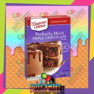 דנקן היינס תערובת עוגת טריפל שוקולד 432g