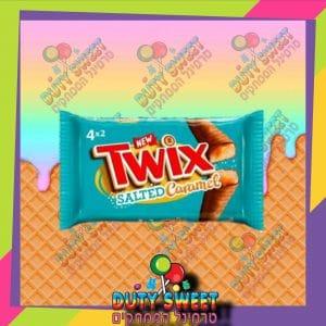 טוויקס מלח קרמל מצופה שוקולד 4+2