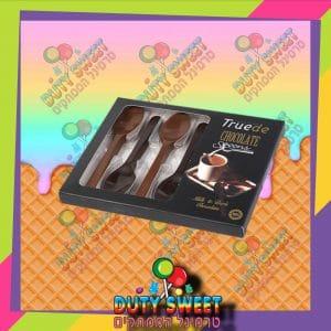 בולסי מארז כפיות שוקולד חלב ומריר 54g
