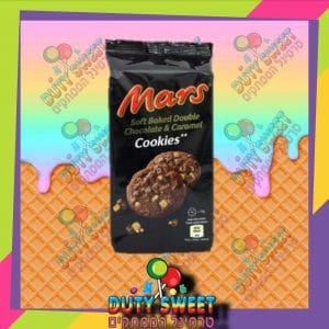 מארס עוגיות דאבל שוקולד וקרמל