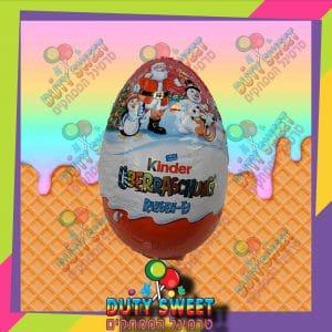 קינדר ביצה ענק קריסמס 220g ורוד
