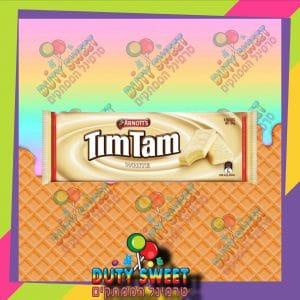 טים טם חטיפי שוקולד לבן 165g
