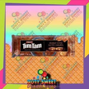 טים טם חטיפי שוקולד במילוי קרמל מלוח 175g