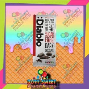 דיאבלו טבלת שוקולד מריר – ללא סוכר 85g