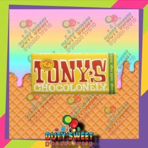 טוני שוקולד חלב עם שברי נוגט 180g