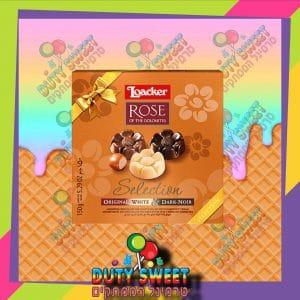 לואקר רוז מבחר שוקולדים מיקס 150g