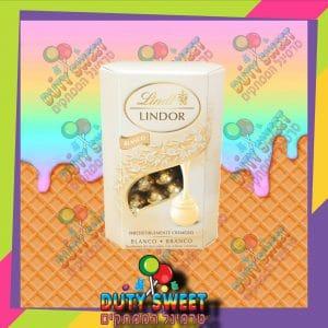 לינדט לינדור כדורי שוקולד לבן שוויצרי במילוי קרם רך 200g