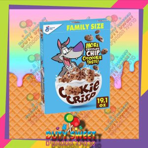דגני בוקר פריכים בטעם עוגיות שוקולד ציפס 428g