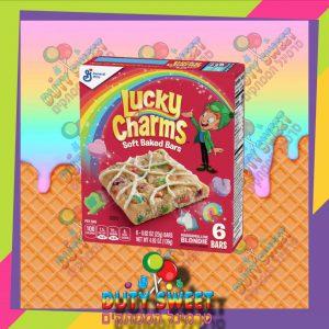 לאקי צארמס חטיפי קמח חיטה עם ממתקים מוקצפים וסוכריות 6 יחידות 139g