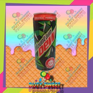 mountain dew משקה מוגז 330 מ'ל